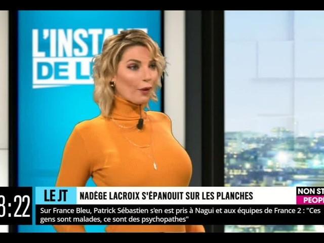 """Nadège Lacroix et la chirurgie esthétique : """"Je suis encore en travaux !"""""""
