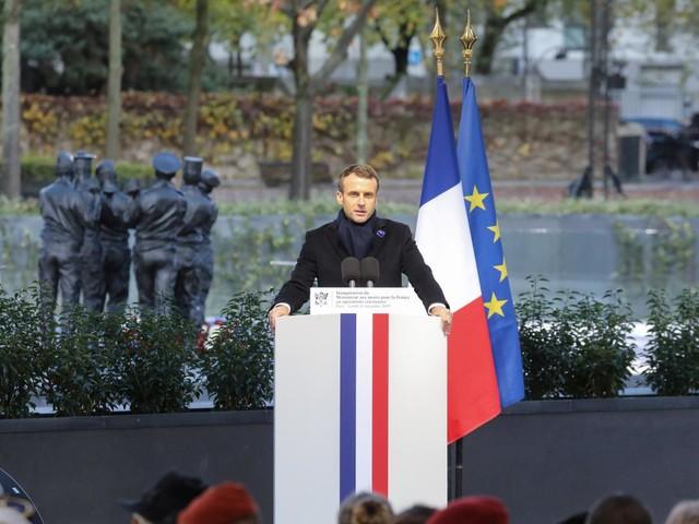 VIDEO. Emmanuel Macron inaugure le monument à la mémoire des militaires des opérations extérieures morts pour la France