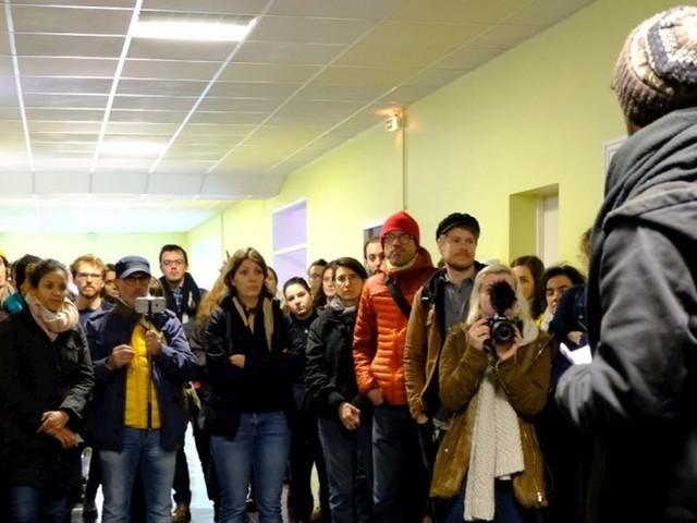 Cenon : le mouvement Extinction Rébellion investit des locaux désaffectés sur le coteau