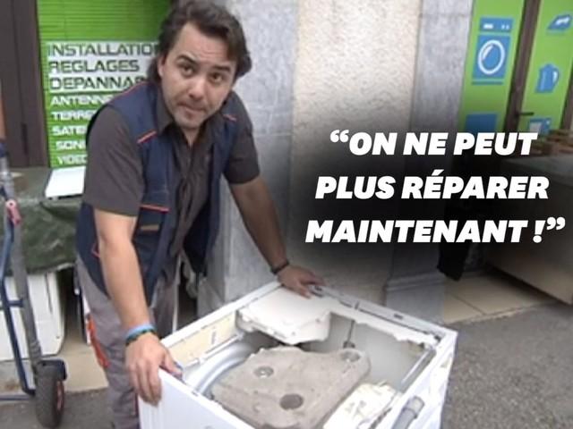 Ce réparateur de lave-linge montre pourquoi ils ne sont plus réparables aujourd'hui