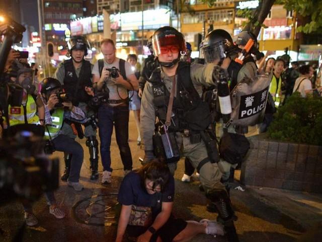 EN DIRECT - Hong Kong : Washington gravement préoccupé après la nouvelle flambée de violences
