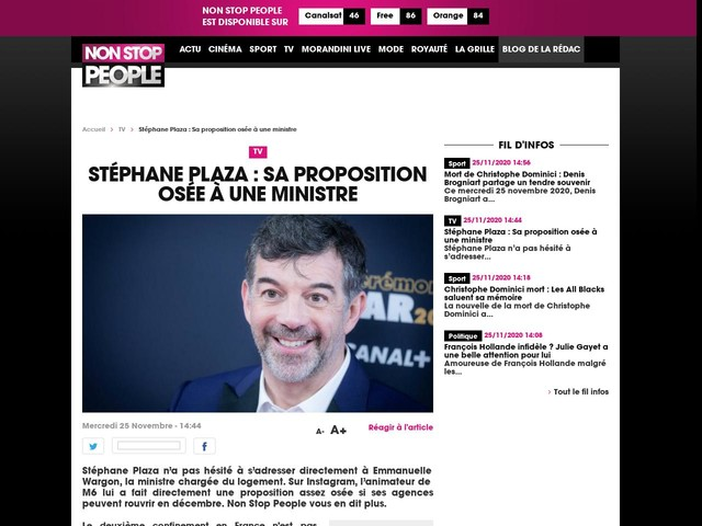 Stéphane Plaza : Sa proposition osée à une ministre