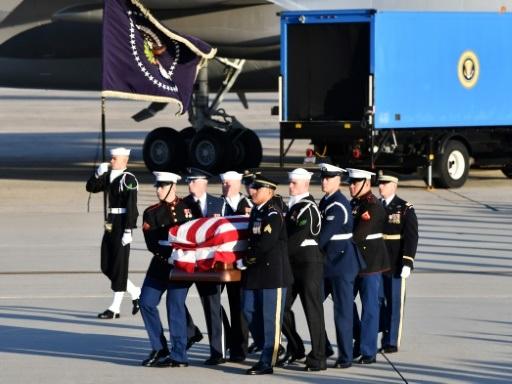 La dépouille de George H.W. Bush à Washington pour un hommage national