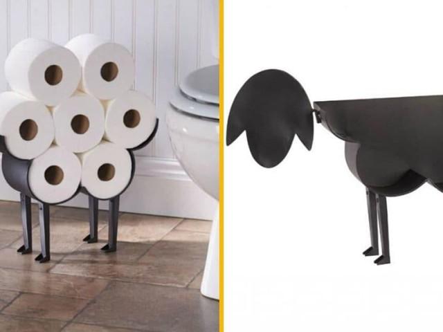 [TOPITRUC] Un support de papier toilette en forme de mouton, bêêê