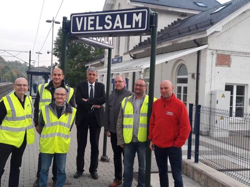 """Mickaël inquiet pour la ligne 42: """"On ne peut pas supprimer cette ligne ferroviaire cruciale en Wallonie"""""""