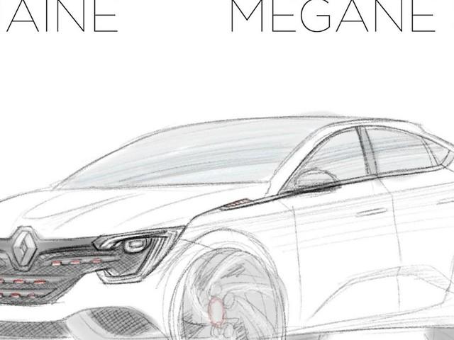 Le Croquis de la semaine, Renault Mégane SUV