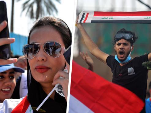 Le pouvoir tremble en Irak: voici comment Facebook et Twitter sont devenus les armes des manifestants