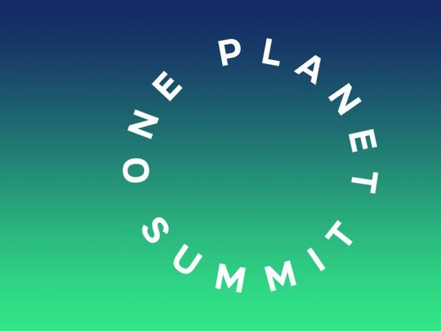 Démarrage, aujourd'hui, du « One Planet Summit »