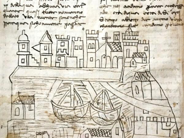 On en sait plus sur Venise grâce à la découverte d'un dessin du XIVe siècle