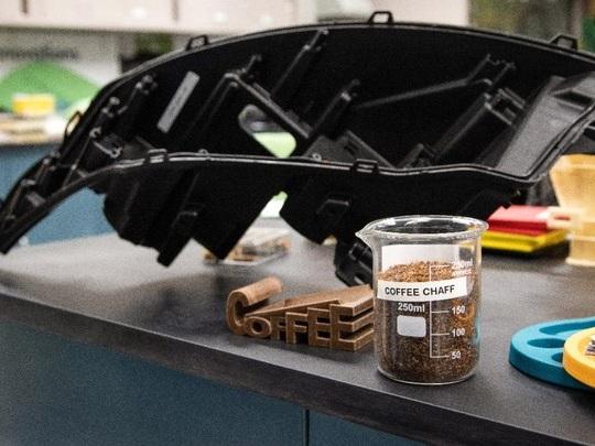 Ford transforme les restes de grains de café en pièces autos