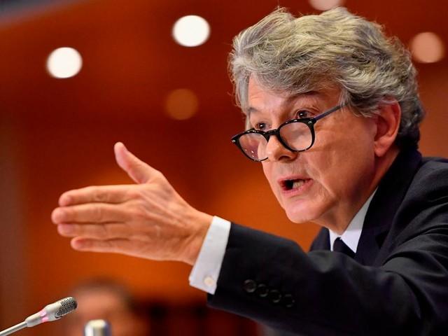 Thierry Breton validé par les eurodéputés pour la Commission européenne