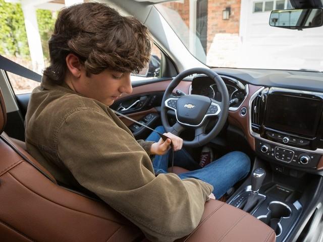 Chevrolet veut forcer les ados à boucler leur ceinture