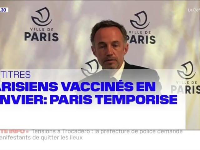 """Paris: des incidents ont éclaté à la fin de la manifestation contre la loi """"sécurité globale"""""""
