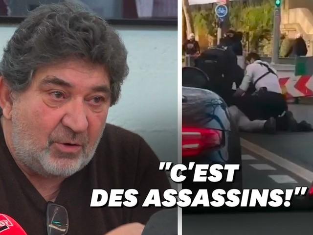 """Mort de Cédric Chouviat : """"Ils ont tué mon fils! J'irai au combat"""""""