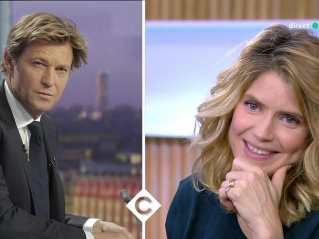 Quand Alice Taglioni se moque de Laurent Delahousse sur France 5
