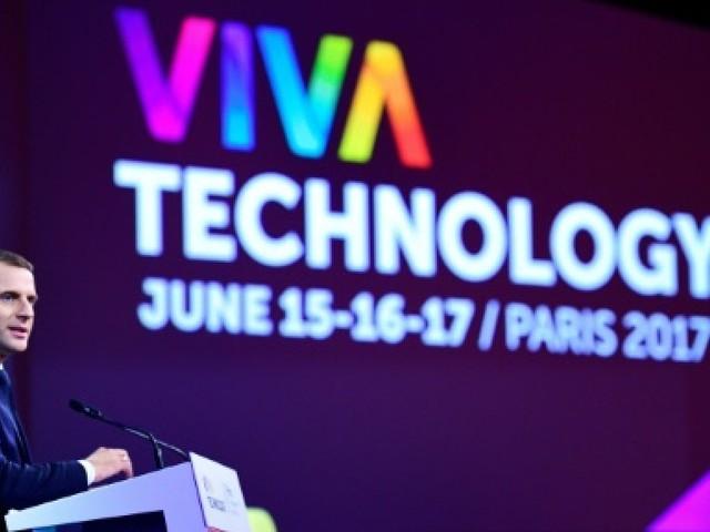 Macron au salon VivaTech pour tracer sa feuille de route technologique