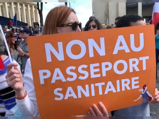 Nouveau samedi de manifestations contre le vaccin, en Europe