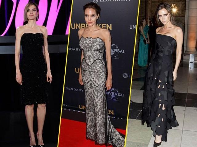 Letizia d'Espagne, Angelina Jolie, Victoria Beckham... Belles mais maigres, ces stars qui dérangent !