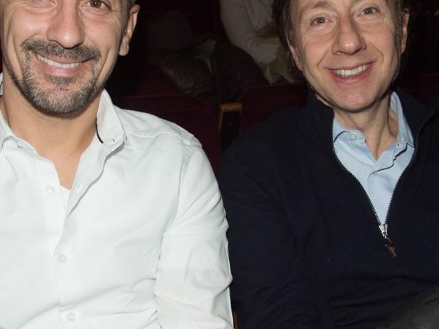 Stéphane Bern et son chéri Lionel passent la Saint-Valentin au théâtre