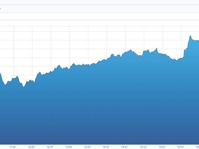 La Bourse de Paris à son plus haut niveau depuis 2007