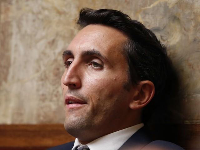 Julien Aubert, 3e candidat à la présidence de LR