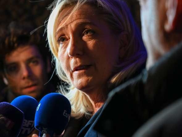 Réforme des retraites: depuis Hénin-Beaumont, Marine Le Pen critique les «promesses de Gascon du gouvernement»