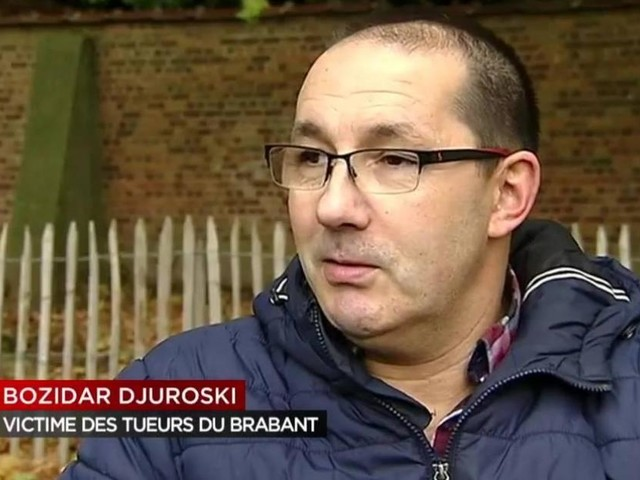 Son père abattu lors des Tueries du Brabant: «J'ai revu le regard noir du tueur dans le commissariat d'Alost» dit Bozidar Djuroski