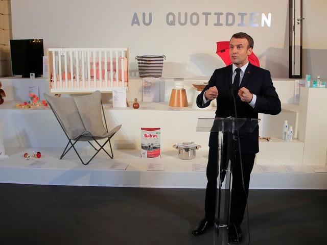 """Pour le sommet """"Choose France"""", Macron se mue en VRP des territoires"""