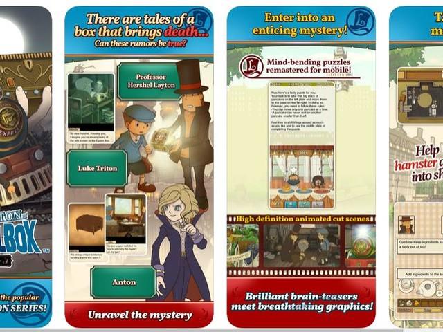 Professeur Layton et la Boîte de Pandore : le jeu revient sur Android et iOS