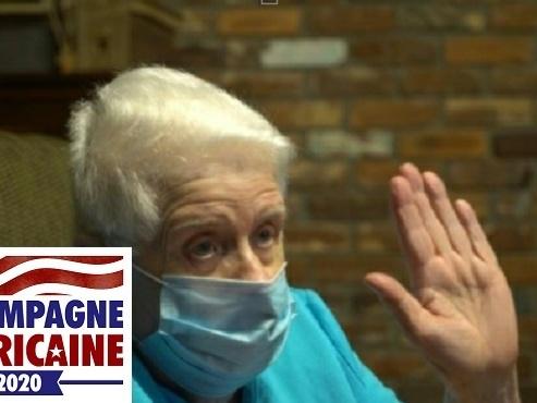 A 95 ans, la Normande Jeannette est une inconditionnelle de Trump