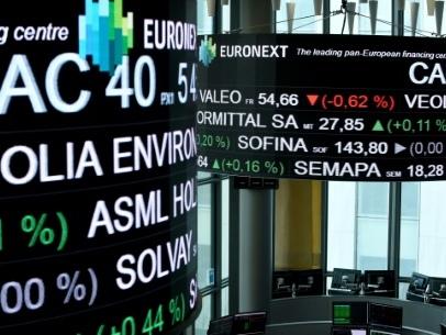 La Bourse de Paris ancrée dans le rouge à mi-séance (-0,35%)