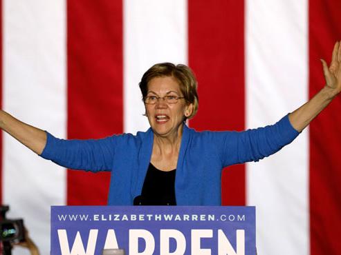 """L'""""extraordinaire"""" effondrement d'Elizabeth Warren dans la course à la Maison Blanche"""