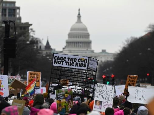 """Aux Etats-Unis, dernière """"Marche des femmes"""" avant la présidentielle"""