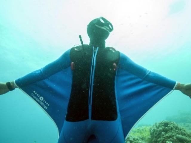 Pierre Frolla, l?homme qui volait dans l?océan