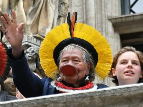 Nobel de la Paix: la candidature du chef Raoni proposée