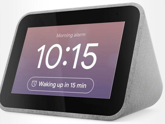 Enceinte réveil connecté Lenovo Smart Clock à 69.99 € chez Darty et Fnac
