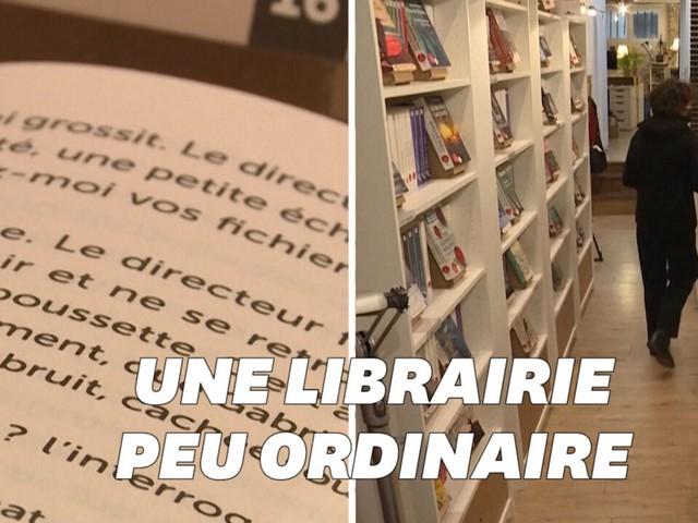 """La """"Librairie des grands caractères"""" ouvre à Paris pour les personnes malvoyantes"""