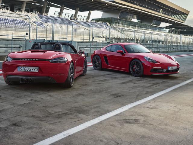 Diaporama : toutes les photos des Porsche 718 Boxter GTS et 718 Cayman GTS