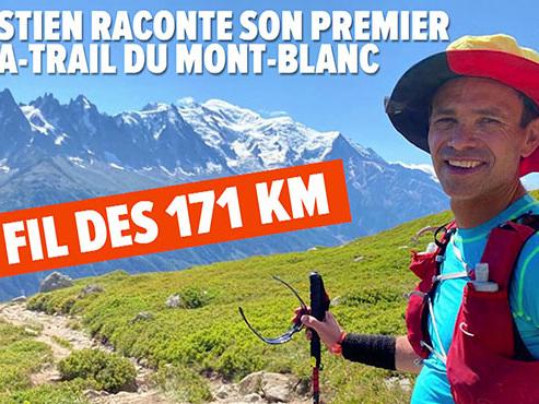Sébastien et 4 amis belges ont réussi leur pari fou: ils ont parcouru les 171 kilomètres de l'Ultra-Trail du Mont-Blanc