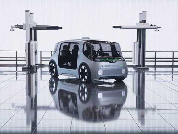 Le Project Vector Jaguar Land Rover urbain électrique est prêt pour l'autonomie