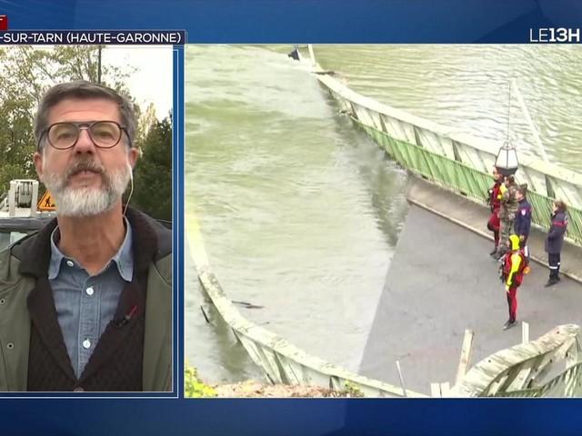 Pont effondré à Mirepoix-sur-Tarn : les pompiers s'activent pour retrouver d'éventuels disparus