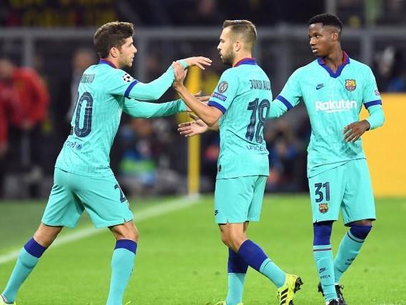 Foot - ESP - Barça - Le Barça privé de Jordi Alba pour deux semaines