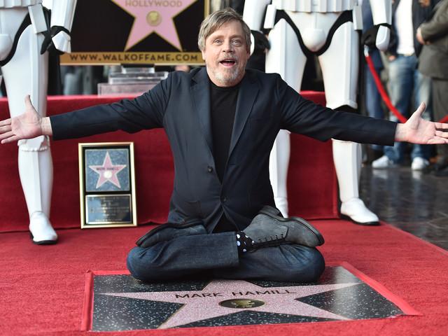Star Wars : une nouvelle ?toile dans le ciel d?Hollywood pour Mark Hamill