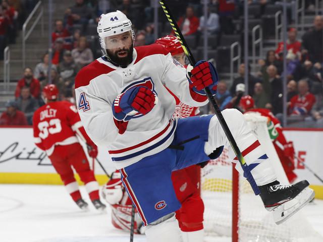 Le Canadien échange Nate Thompson aux Flyers