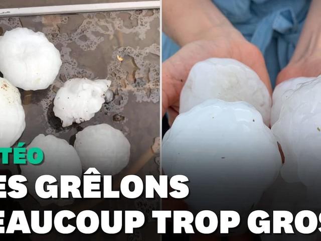 Orages: des grêlons de 6cm tombent dans le Haut-Doubs, des dégâts importants