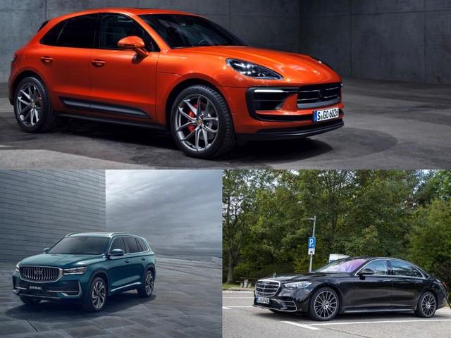 Porsche Macan, Mercedes Classe S hybride rechargeable et Geely Xingyue L : les nouveautés auto de la semaine - 2nde partie