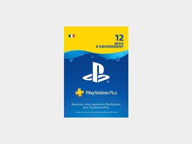 Bon plan : l'abonnement 12 mois PlayStation Plus à 44€ au lieu de 59€