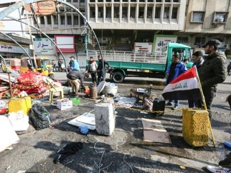 Irak: les forces de sécurité délogent des manifestants antigouvernementaux