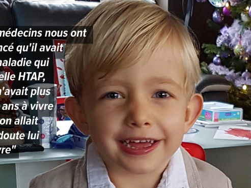Le petit Arthur, 4 ans, mort d'une maladie rare, est enterré aujourd'hui: sa maman nous raconte son histoire