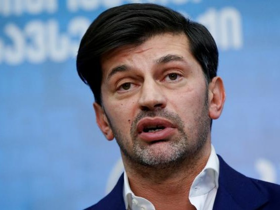 Foot - GEO - Kakha Kaladze, ancien joueur de l'AC Milan, élu maire de Tbilissi